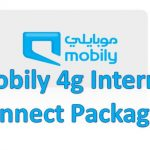 Mobily 4g Internet Connect Packages
