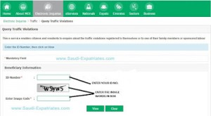 CHECK MOI TRAFFIC VIOLATIONS ONLINE