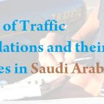 List of Traffic Violations and their Fines in Saudi Arabia