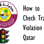 How to Check Traffic Violation in Qatar MOI