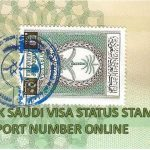 CHECK SAUDI VISA STATUS STAMPING BY PASSPORT Number