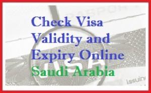 check visa expiry ksa