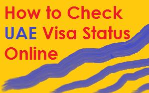 how to check uae visa status