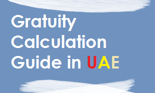 gratuity calculation of employee in uae