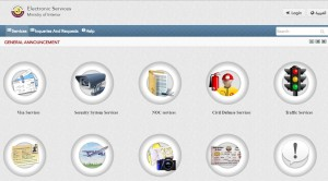 moi electronic services website