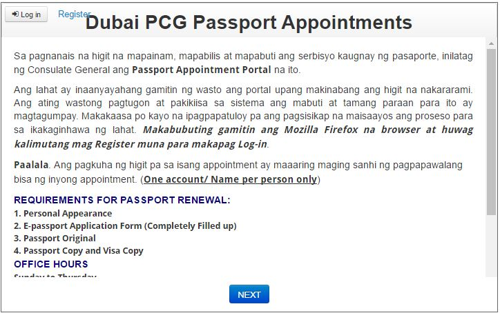 Passport Renewal Philippines Dubai Procedure Uae Expatriates
