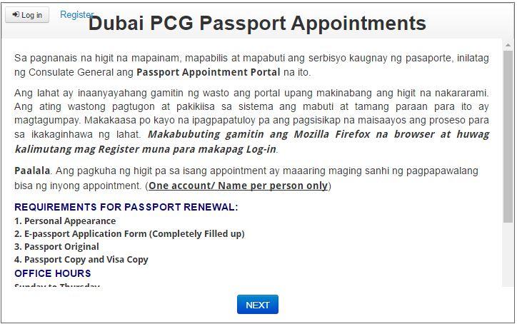 dubai-passport-appointment-philippine