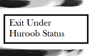 How to exit from huroob status without going to jail