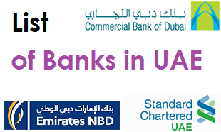 list of banks in uae