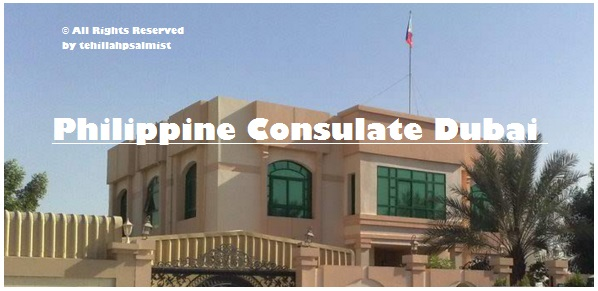 building address of Philippine consulate dubai
