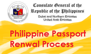 Philippine passport renewal in dubai