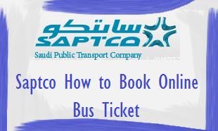 SAPTCO سابتكو Online Bus Ticket Booking