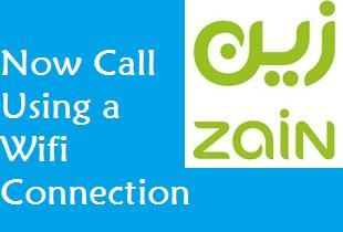 wifi calling service of ZAIN KSA