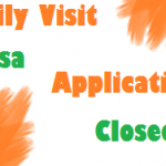 Family VISIT VISA Application Now Closed Till Hajj