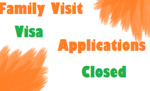 family visit visa applications closed till hajj