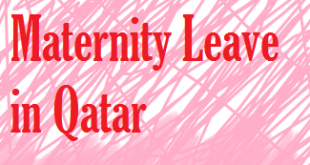 maternity leave of qatar labor law