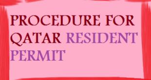 get qatar resident permit