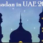 Ramadan Date in UAE 2018