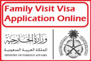 how to apply family visit visa saudi arabia