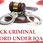 CHECK CRIMINAL RECORD UNDER IQAMA