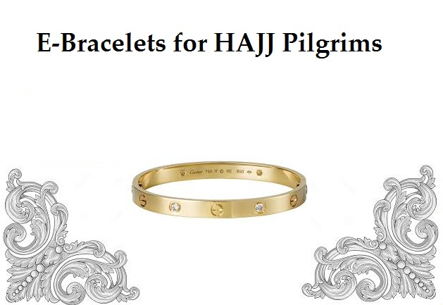 e-bracelets in hajj
