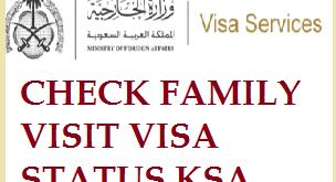 mofa family visa status
