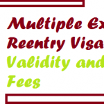 Multiple Exit Reentry Visa Validity and Fees