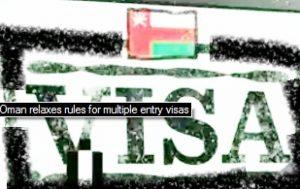 oman multiple exit reentry visa rule