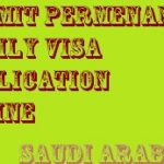 SUBMIT PERMENANT FAMILY VISA APPLICATION ONLINE