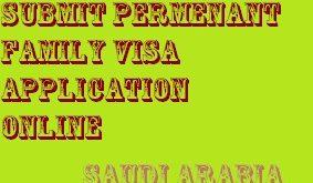 saudi family visa application online