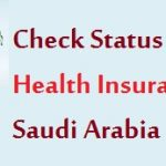 Check Medical Health Insurance Status in CCHI Saudi Arabia
