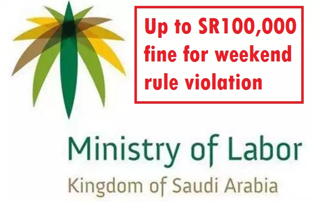 weekend rule violation in saudi arabia