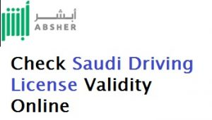 Check Saudi Driving License Online