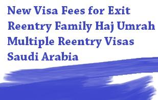 saudi arabia sets new visa fees