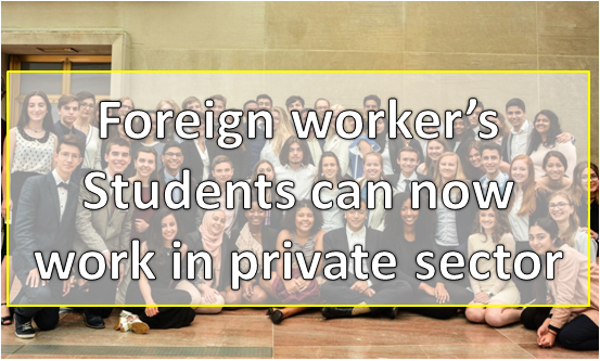 Expatriates Students in UAE Now Work in Private Sector
