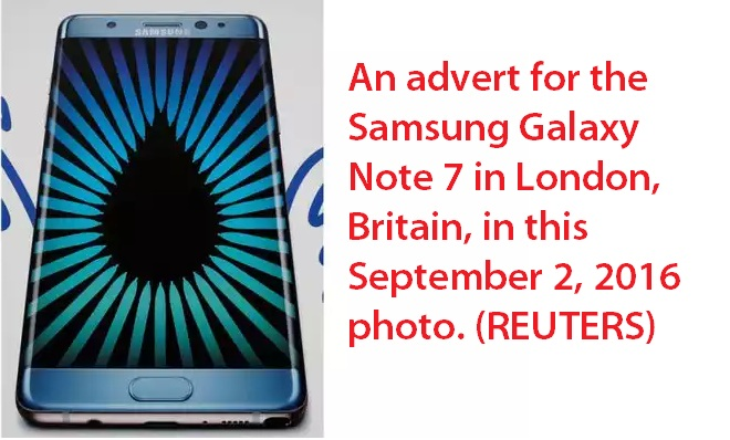 Samsung Galaxy Note 7 Ban in Saudi Arabia
