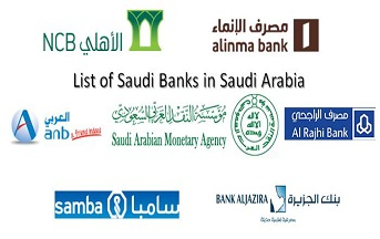 List of Saudi Banks in Kingdom of Saudi Arabia