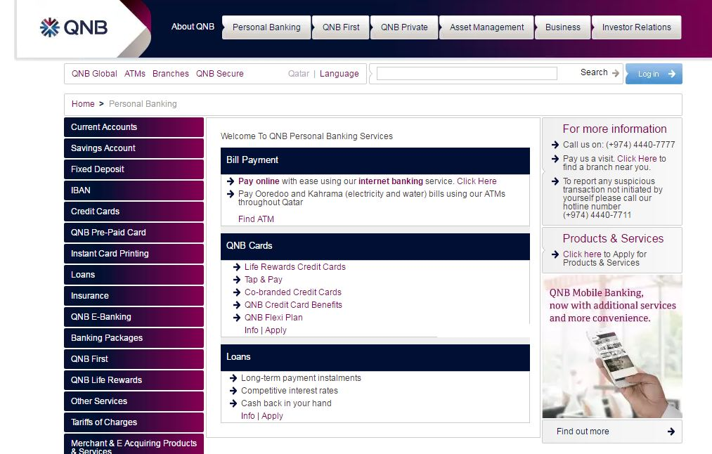 qnb Personal Loans