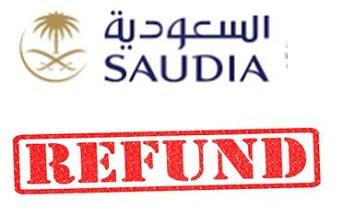 Saudia Airlines Ticket Refund Procedure Refund Policy