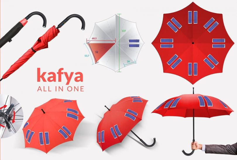Smart Umbrella for Hajj Pilgrims