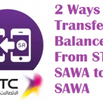 2 Ways to Transfer Balance From STC SAWA to SAWA