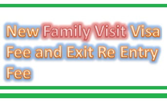 New Family Visit Visa Fee