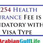 SR 950 HEALTH INSURANCE FEE FOR NEW VISA