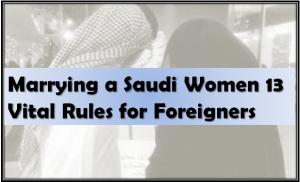 Foreigners Marrying Saudi Women