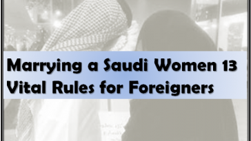 Foreigners Marrying Saudi Women