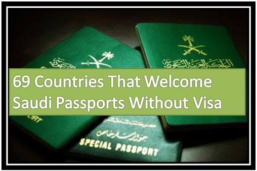 69 Countries That Welcome Saudi Passports Without Visa