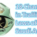18 Changes in Traffic Laws of Saudi Arabia