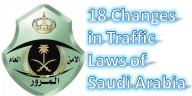 New saudi traffic laws