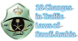 New saudi traffic laws
