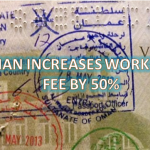 OMAN INCREASED WORK VISA FEE